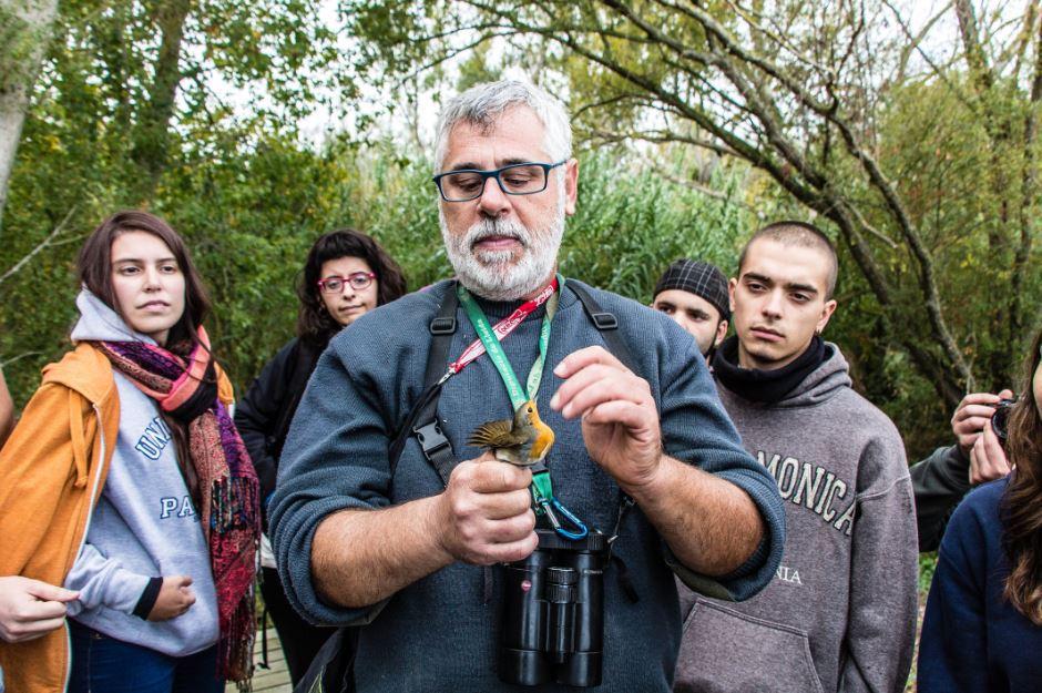Nuevas experiencias en manejo de fauna. He participado en el XII CAMPUS INTERNACIONAL DE LA BIODIVERSIDAD 2015, en Seròs, (Lleida) en concreto, en el curso de manejo de fauna y bio-seguridad.